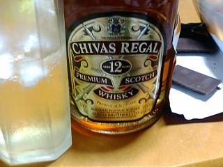 20091003ウイスキーとチョコ